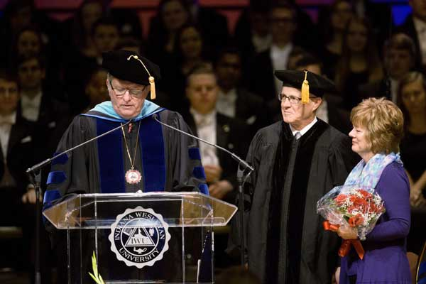 Bray Recieves Honorary Degree