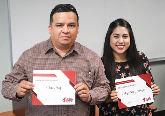 Mexican Consulate Scholarship Winners