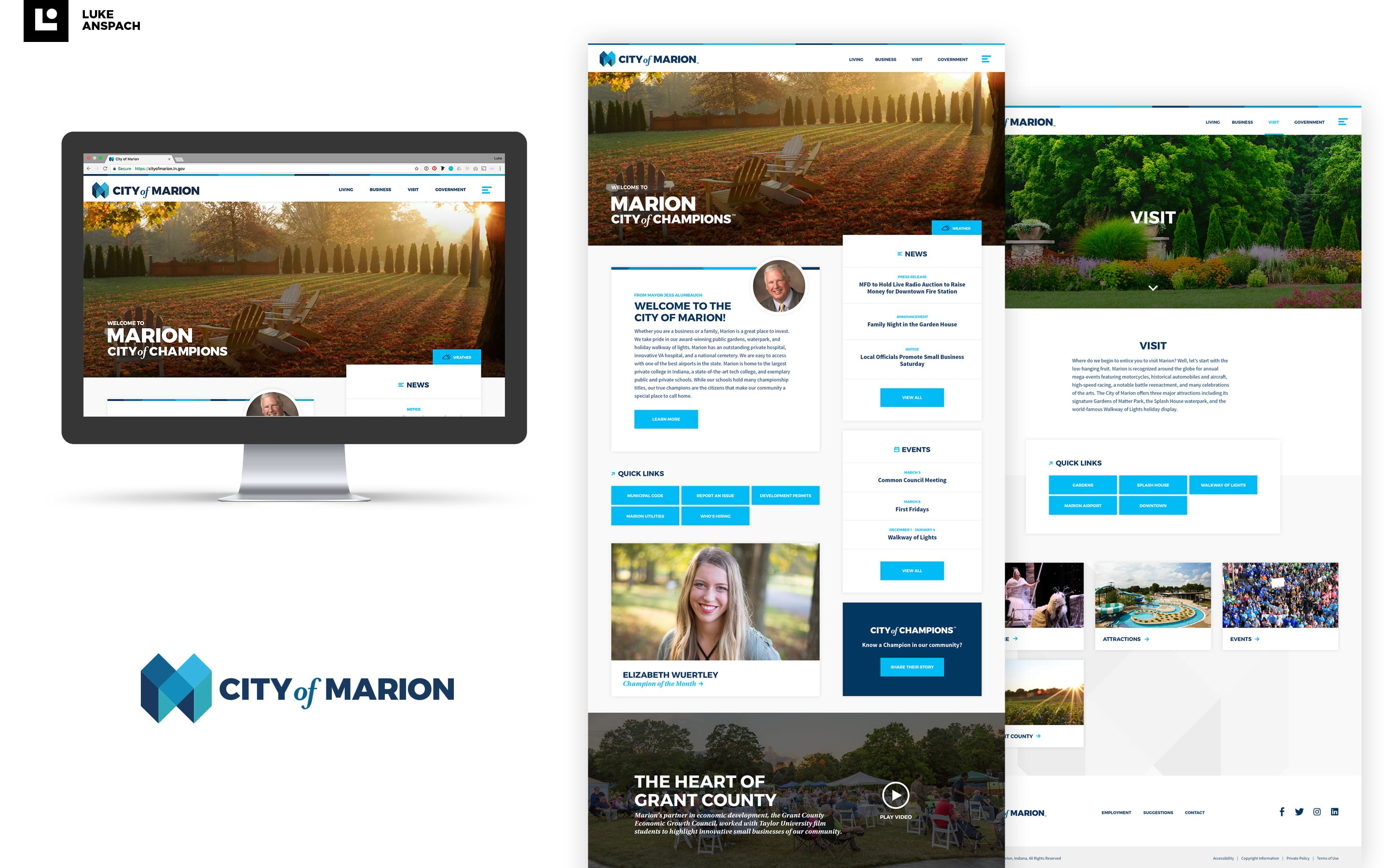 City of Marion Website Design